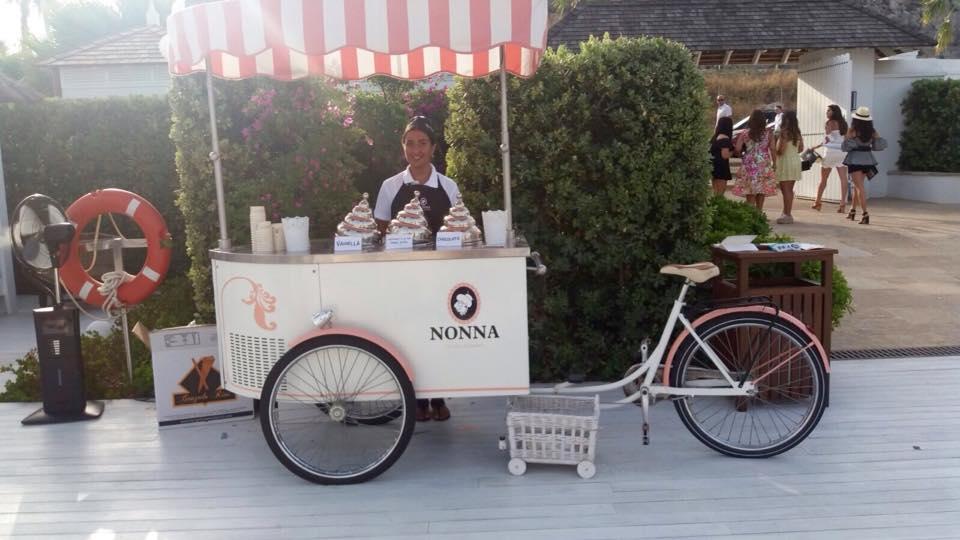 Nonna Helado Artesanal carrito helados