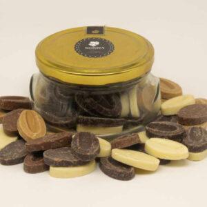 Tarro marmita mix chocolate Valrhona