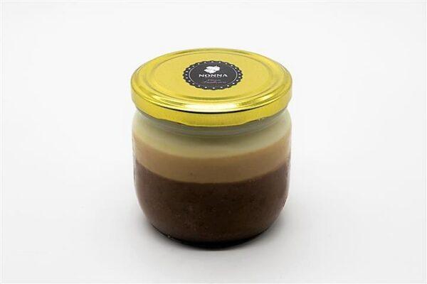 Tarro cristal crema chocolate Buenissimo
