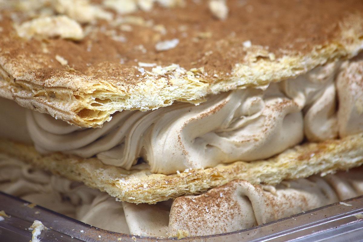 Nonna Helado Artesanal helado de milhoja de turron
